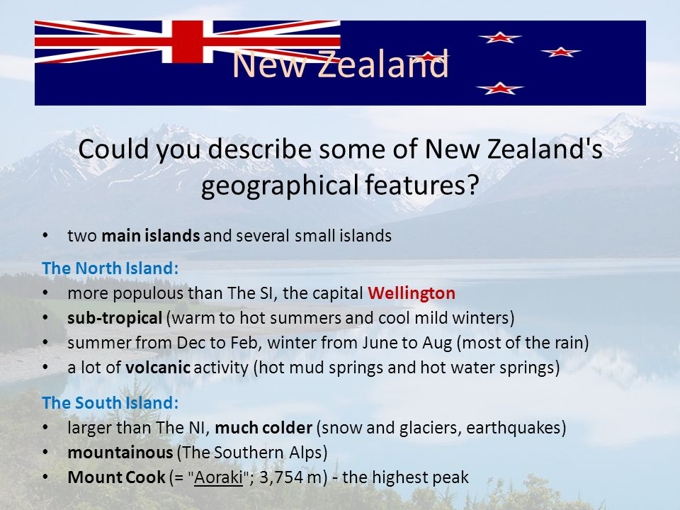 What do you know about New Zealand s wildlife (flora and fauna).