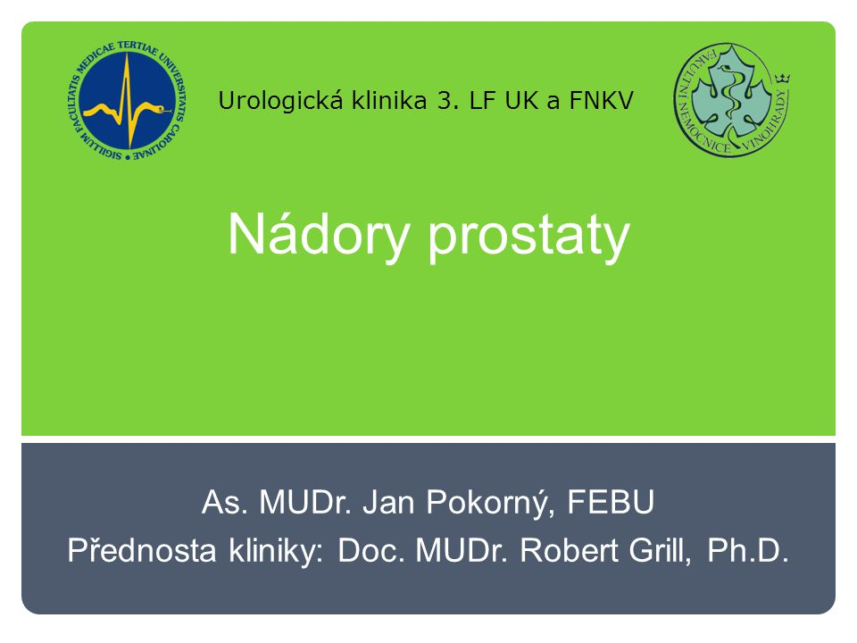 Nádory prostaty Epidemiologie:  Incidence: ČR 80/100 000 USA 120/100 000  Mortalita: ČR 15/100 000