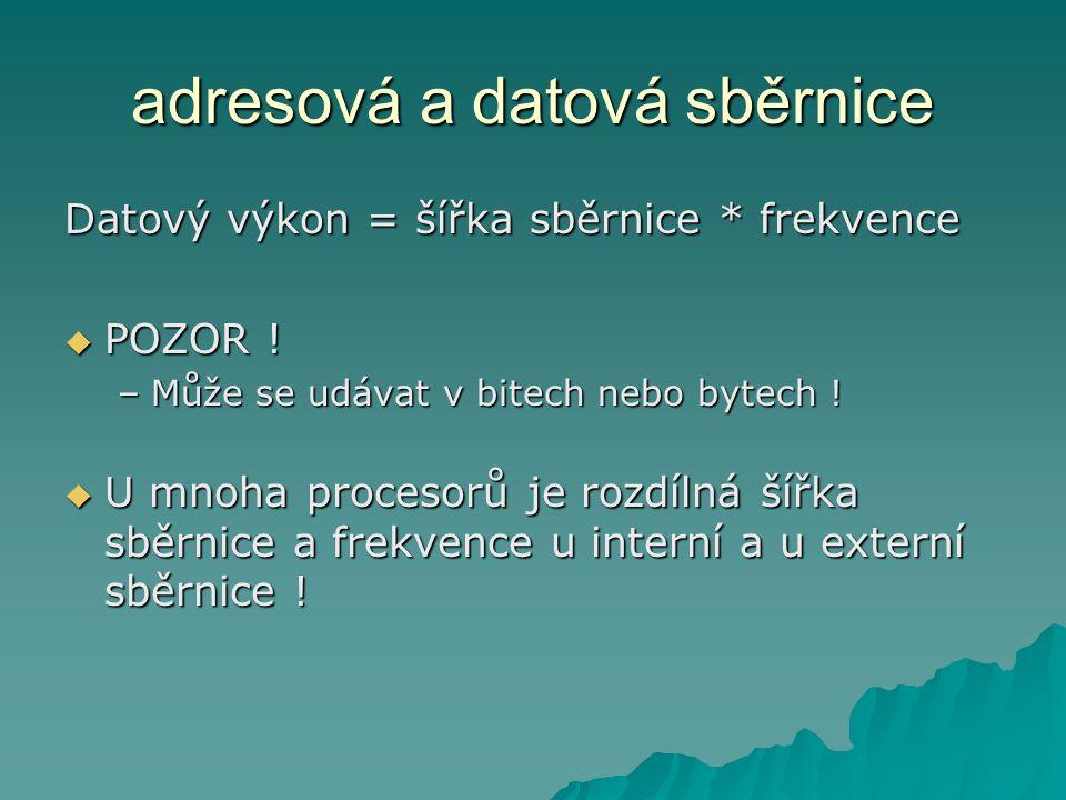 Pentium Pro codenametranzistorů Technologie (µm) Rychlost (MHz) L2 cache 1995P6 5 500 000 0,50150 256/512 kB 1996P6 5 500 000 0,35160/180/200 256/512 kB 1997P6 5 500 000 0,35200 1 MB Počet tranzistorů L2 cache 256 Kb je 15 500 000 !