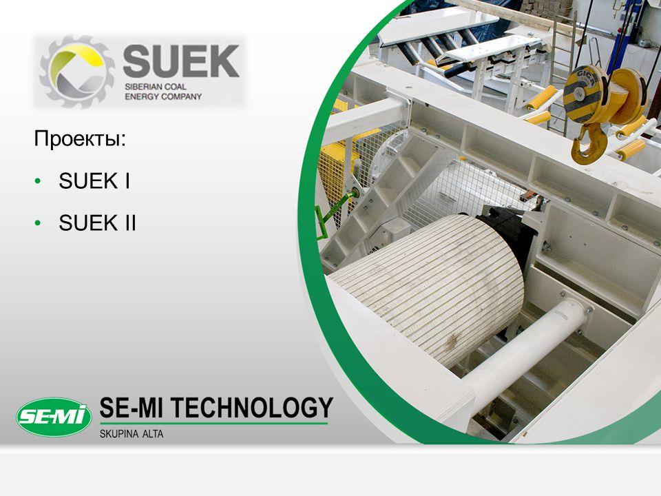 Проекты: SUEK I SUEK II