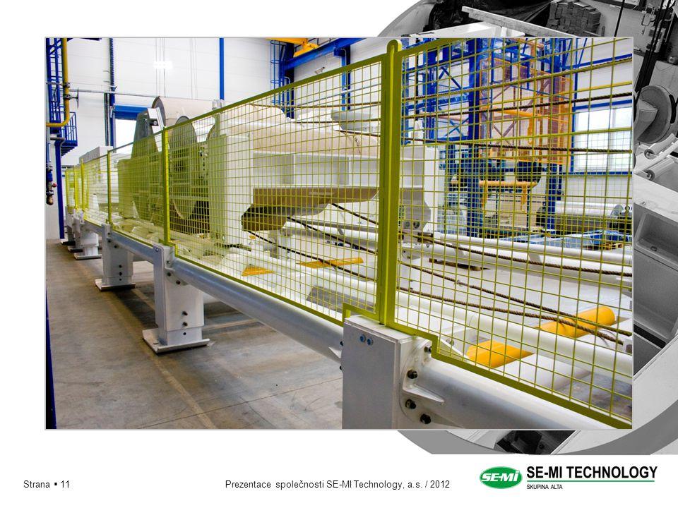 Prezentace společnosti SE-MI Technology, a.s. / 2012Strana  11