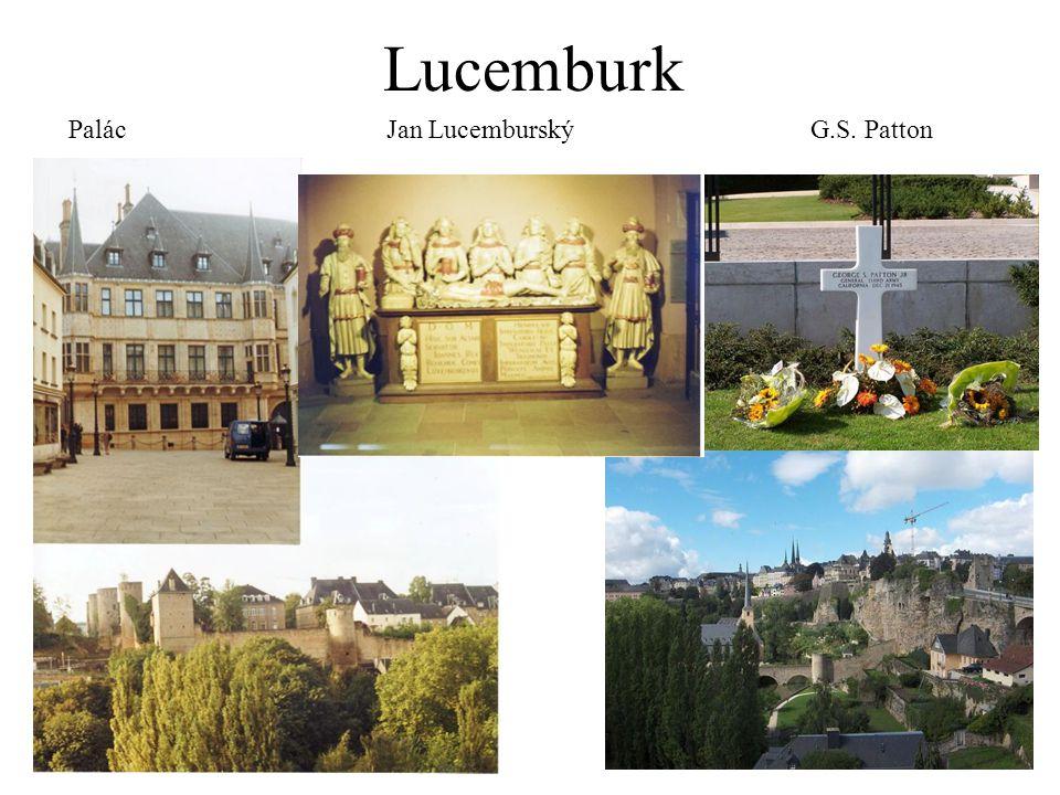 Lucemburk PalácJan LucemburskýG.S. Patton