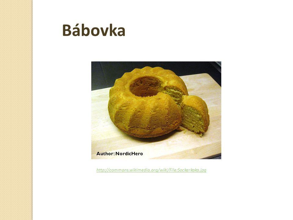 http://commons.wikimedia.org/wiki/File:Sockerkaka.jpg Author: NordicHero Bábovka