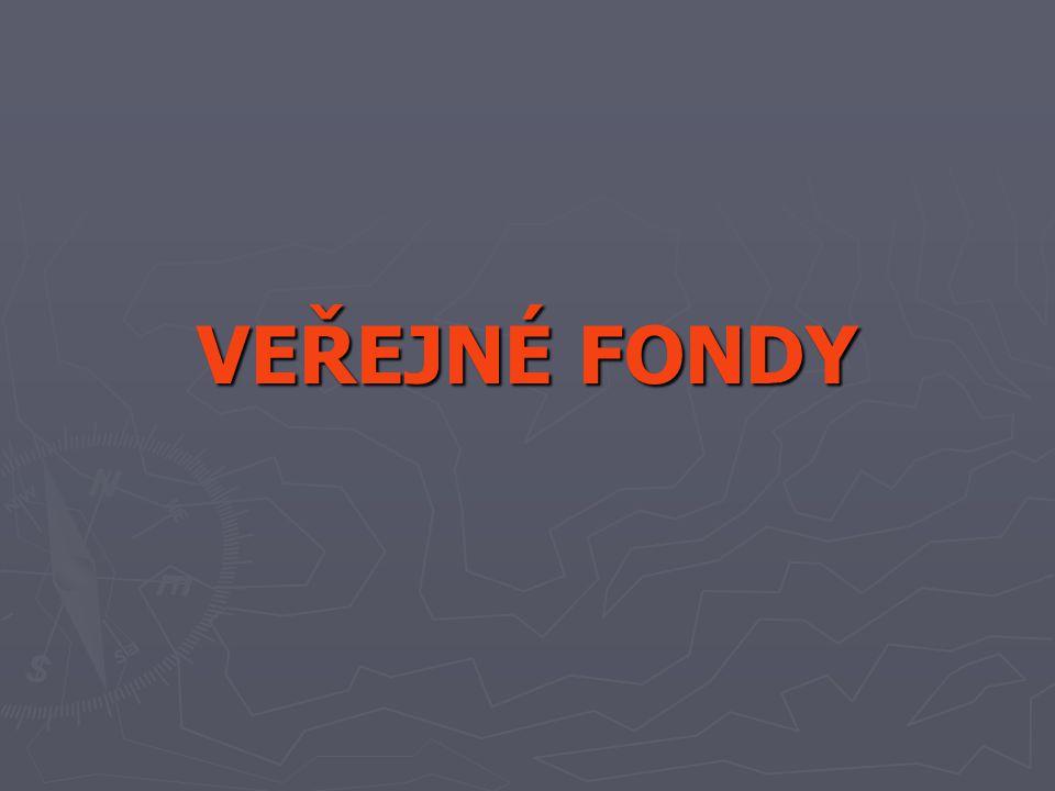 Hlavní úkoly SFŽP ► Podpora investičních a neinvestičních akcí osob souvisejících s ochranou a zlepšováním ŽP ► Zprostředkující orgán pro: a) OP Infrastruktura (2004 – 06) b) OP Životní prostředí (navazuje) c) Program švýcarsko-české spolupráce