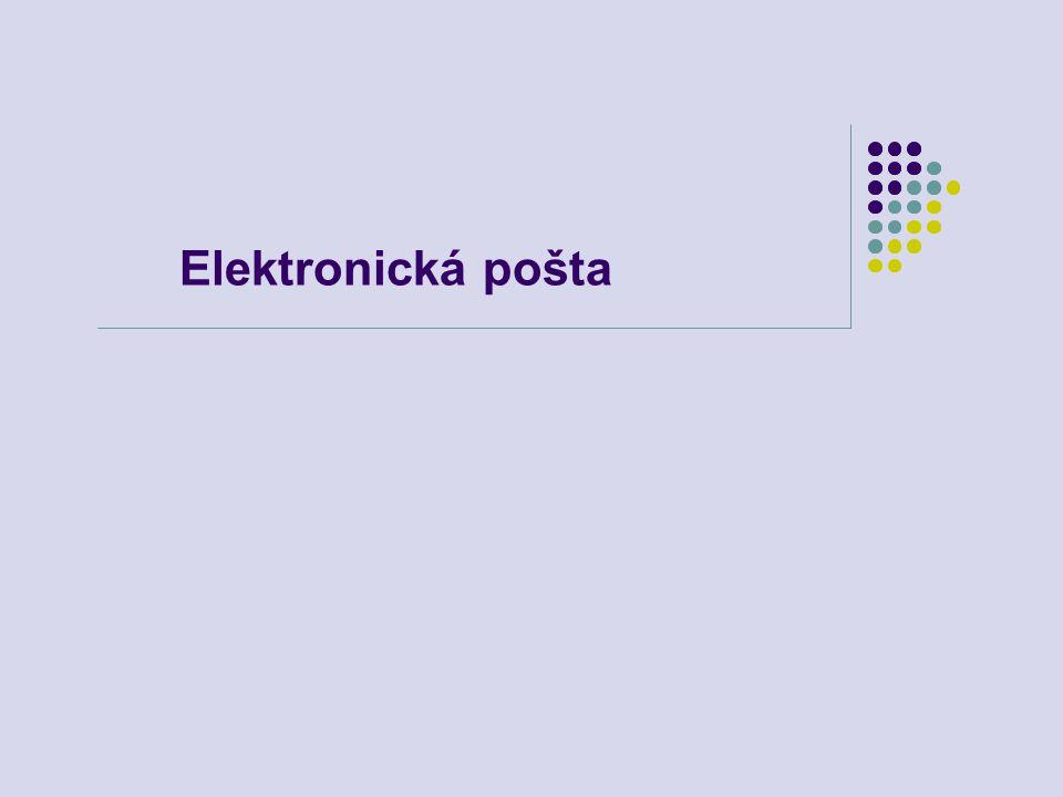 Elektronická pošta