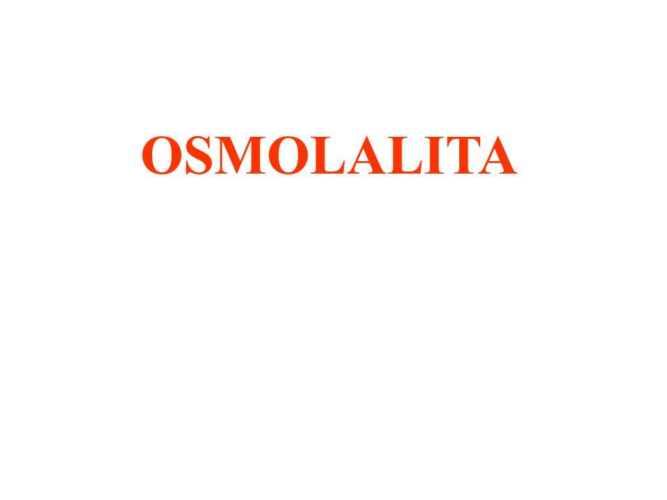 OSMOLALITA
