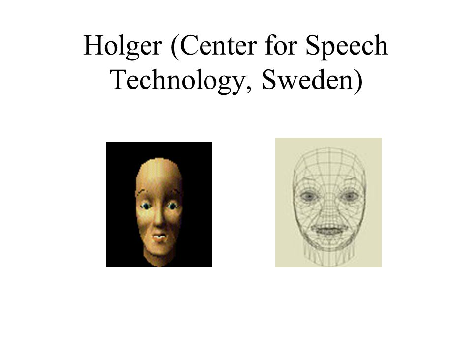 Holger (Center for Speech Technology, Sweden)