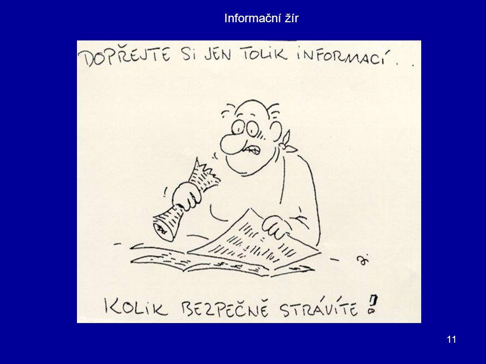 11 Informační žír