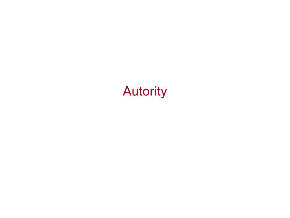 Autority