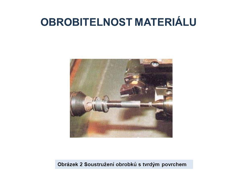 OBROBITELNOST MATERIÁLU Obrázek 2 Soustružení obrobků s tvrdým povrchem