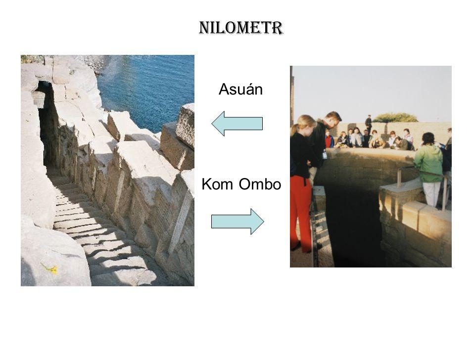 Nilometr Asuán Kom Ombo