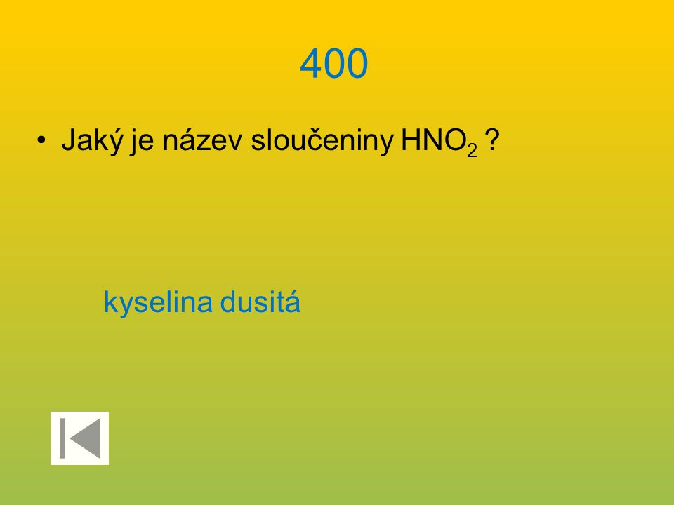 3500 Uveďte název sloučeniny Tl 2 TeO 4. teluran thalný