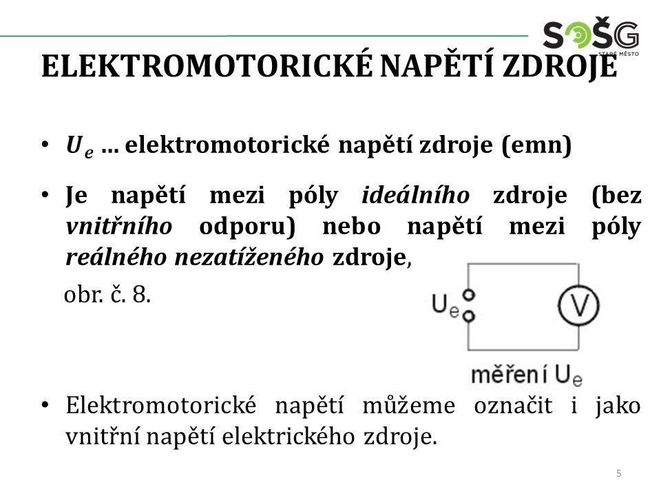 ELEKTROMOTORICKÉ NAPĚTÍ ZDROJE 5