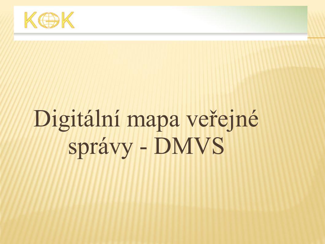 Digitální mapa veřejné správy - DMVS