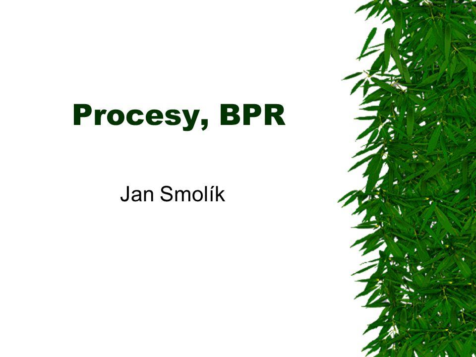 Procesy, BPR Jan Smolík