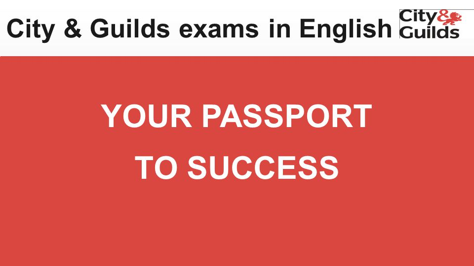 8 AN INTERNATIONALLY RECOGNIZED EXAM IN ENGLISH Valid for life Awarded by the British examining and accreditation body GET