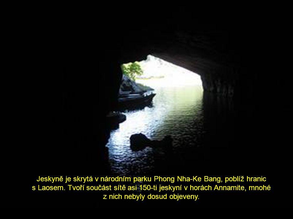 Je úžasné, že můžeme ještě nyní objevit taková velkolepá a neznámá místa.