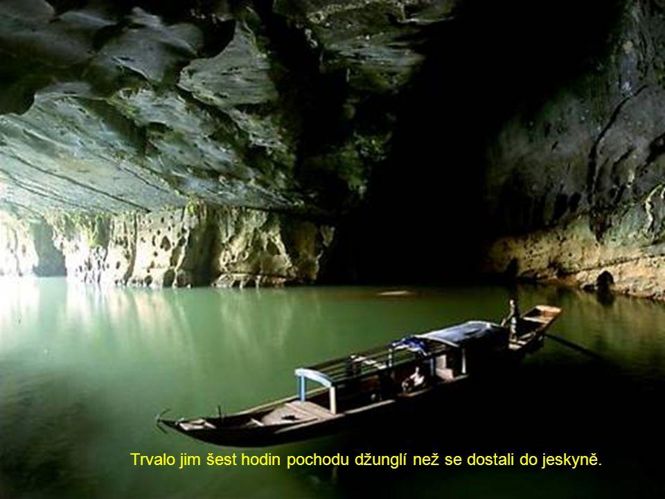 Jeskyňáři byli ohromeni vším.