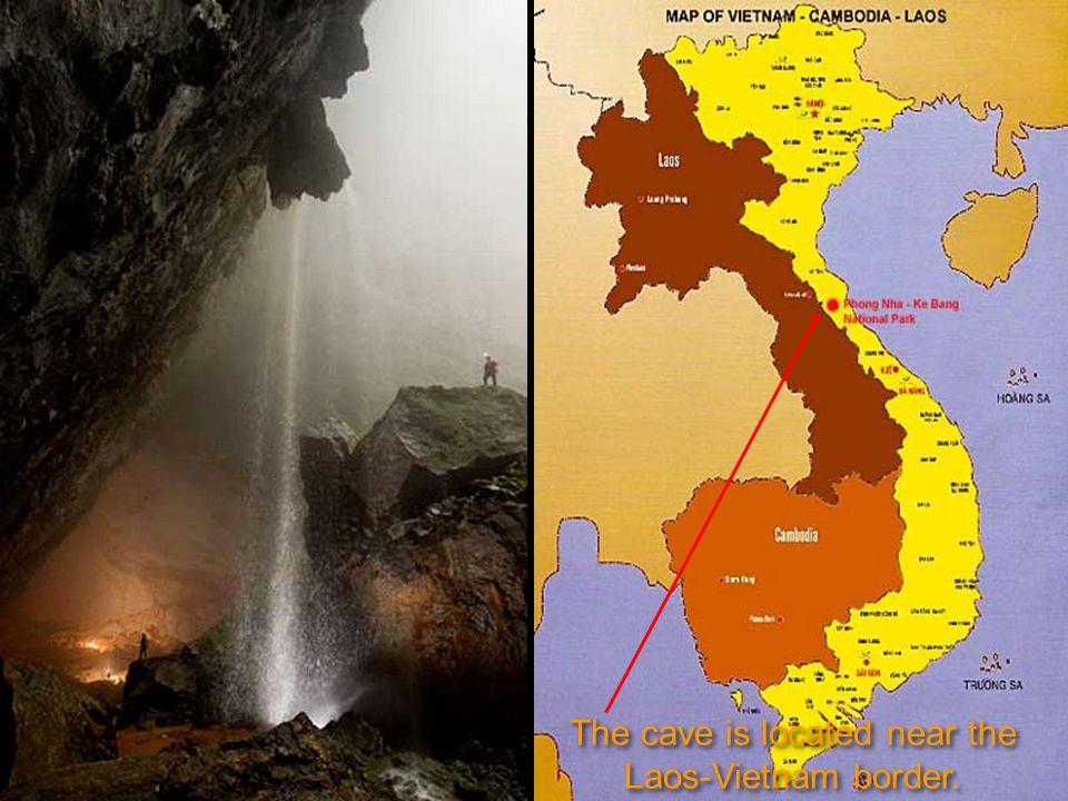 Po překonání Velká zdi Vietnamu jsme zjistili, že jsme došli na konec jeskyně.