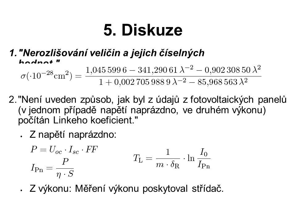 5. Diskuze 1.