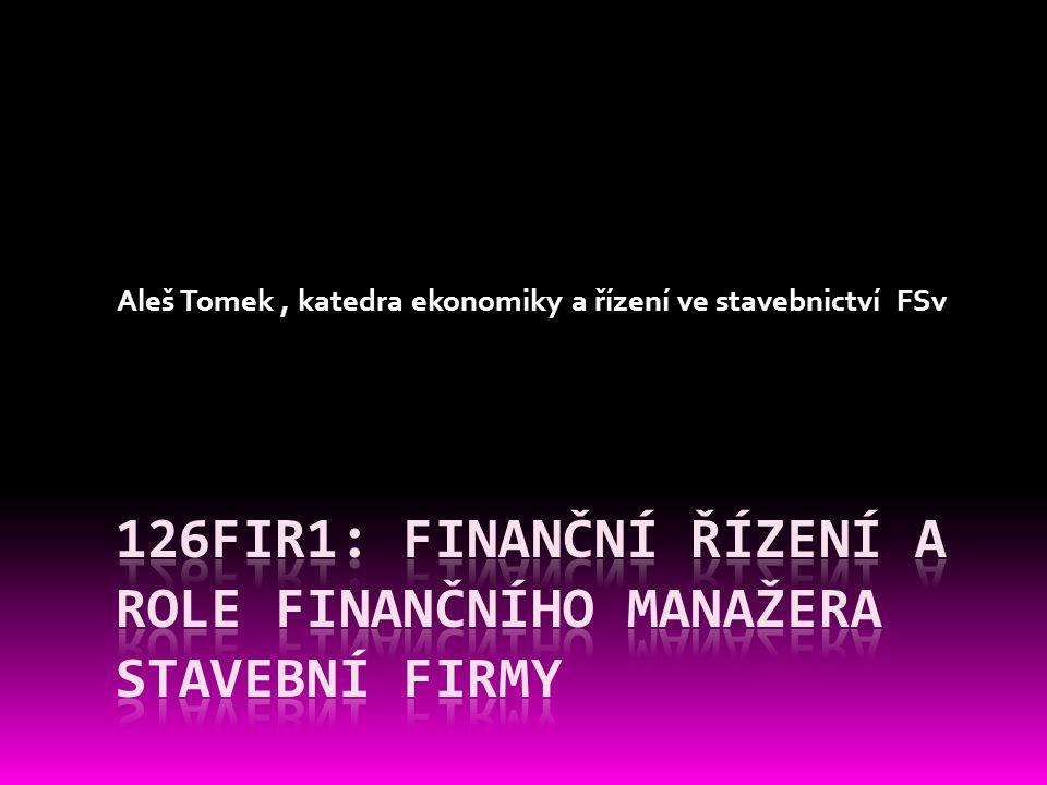 Financování podniku