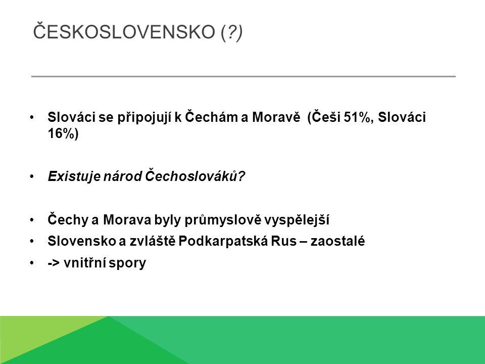 PROBLÉMY HRANIC Co tvoří hranice Čech.(hory, řeky…) Co tvoří hranice Slovenska.
