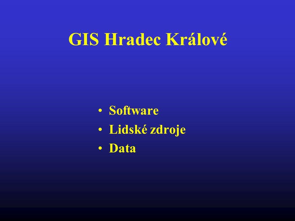 GIS Hradec Králové Software Lidské zdroje Data
