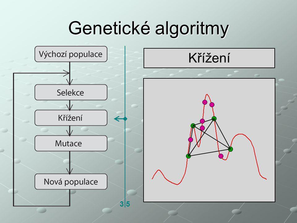 Genetické algoritmy Křížení 3 5