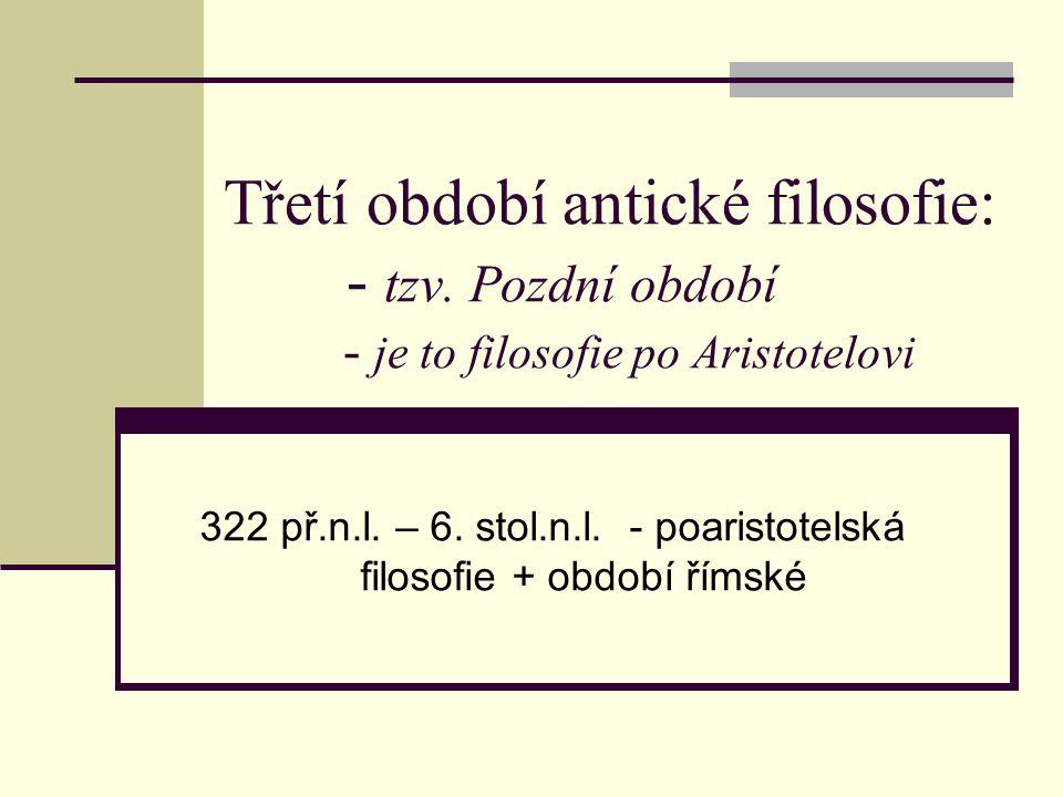 Novoplatonismus /neoplatonismus/ 2.- 6. stol.