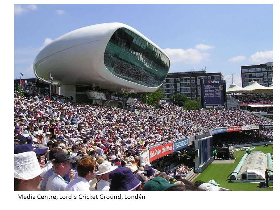 Media Centre, Lord´s Cricket Ground, Londýn