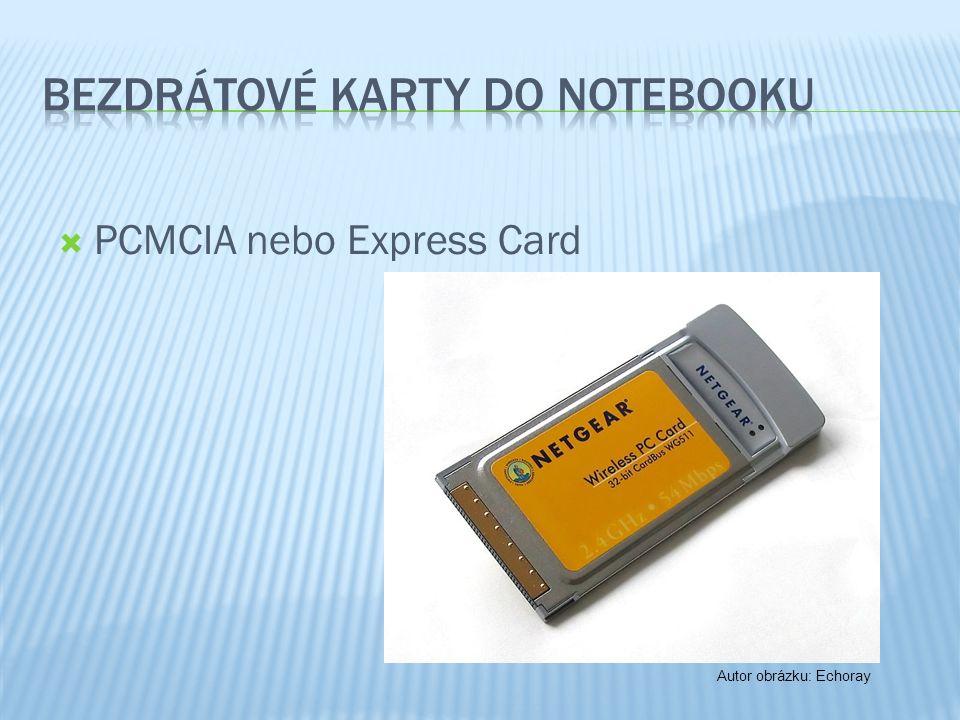  PCMCIA nebo Express Card Autor obrázku: Echoray