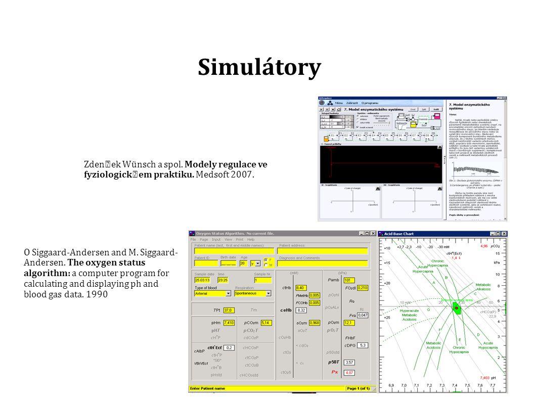 Simulátory Model Vizualizace Simulace