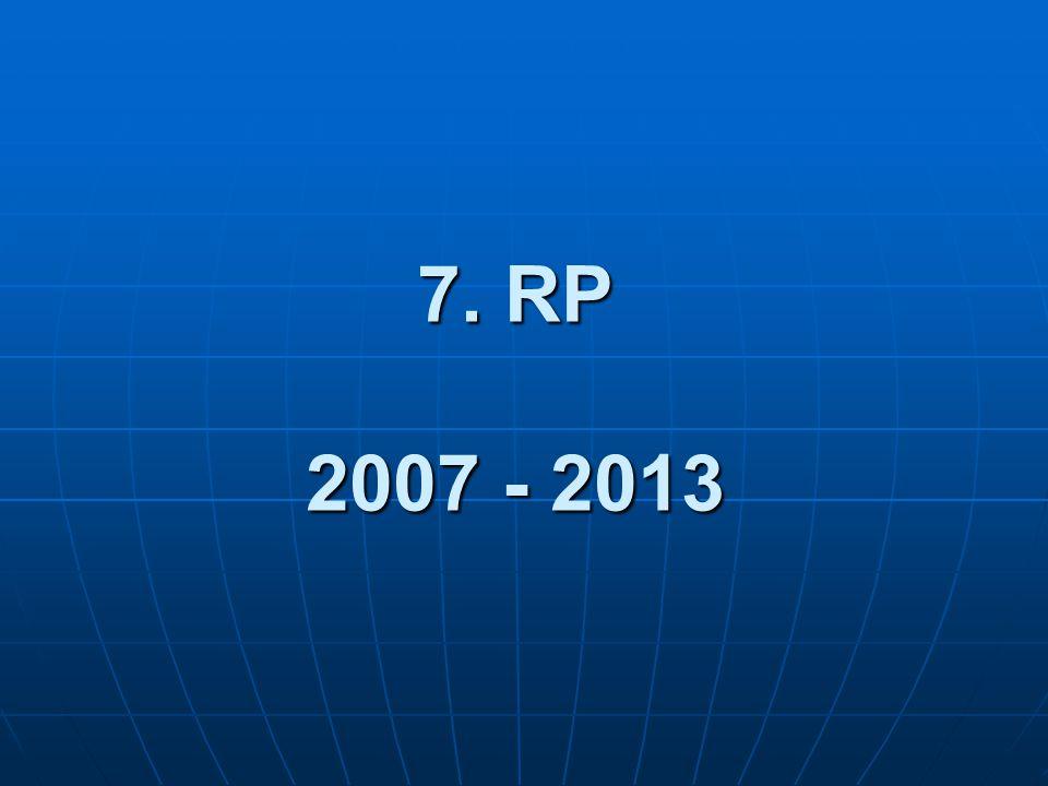 7. RP 2007 - 2013