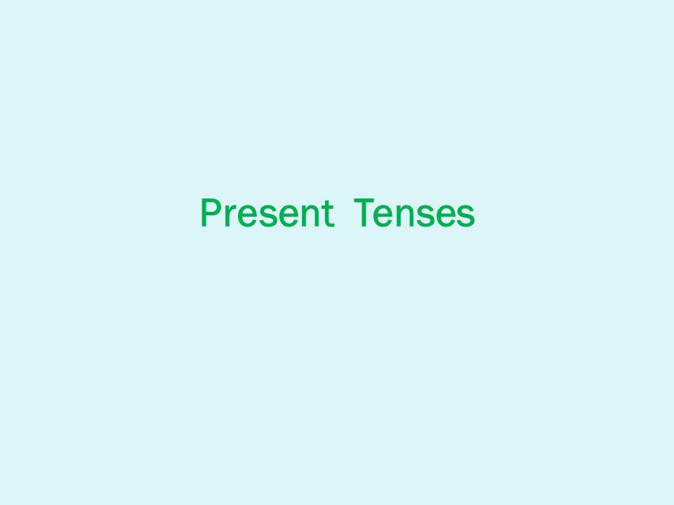 Present Simple: ve třetí osobě j.č.