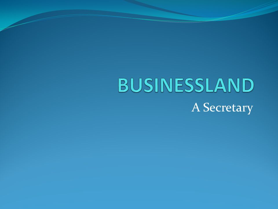 A secretary is someone whose task is to help the boss with a lot of things: to cope with business documents to answer the telephone to arrange meetings with business partners to communicate with the other staff members to see that the office looks nice and tidy to make pleasant atmosphere for visitors