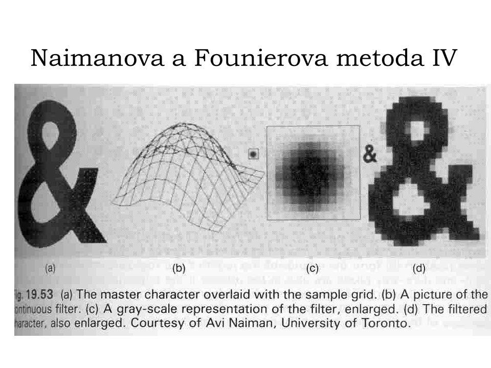 Naimanova a Founierova metoda IV