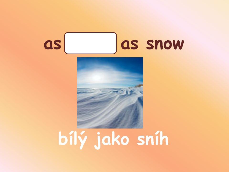 as white as snow bílý jako sníh