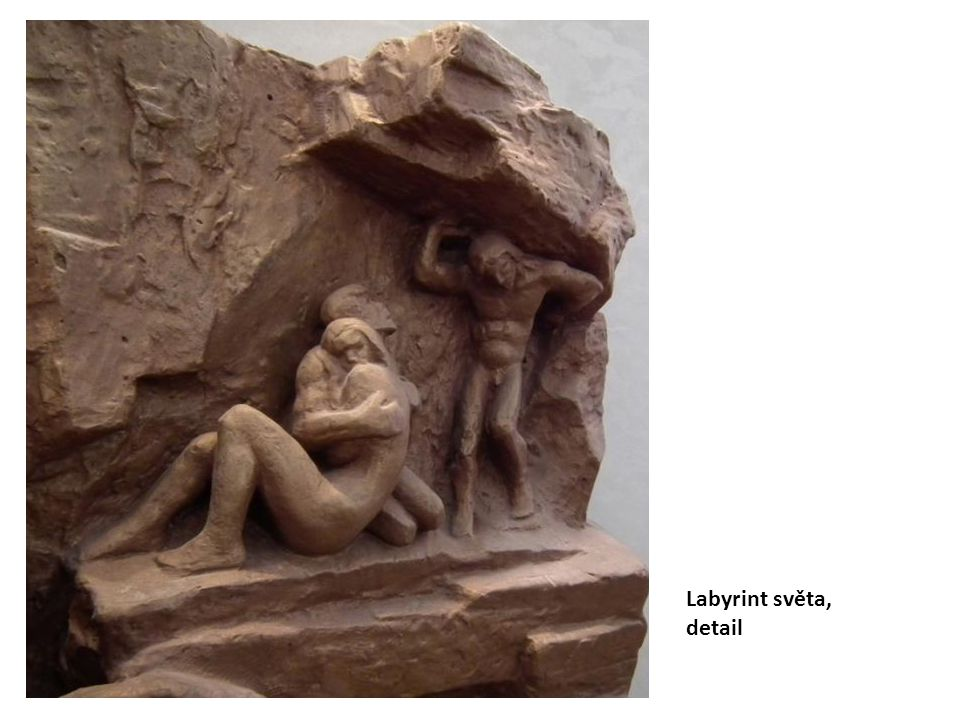 Labyrint světa, detail