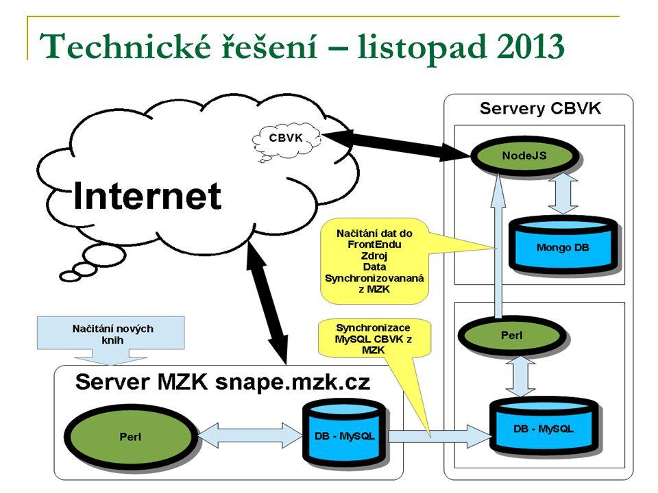 Technické řešení – listopad 2013