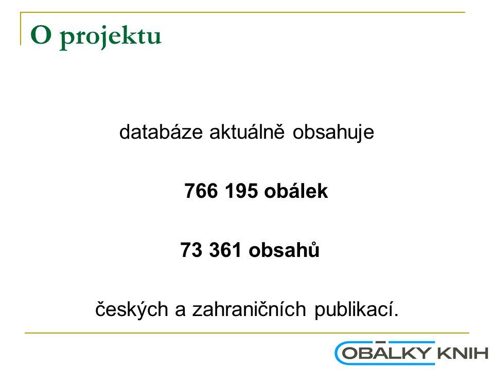O projektu Historie počtu dostupných obálek 03.06.