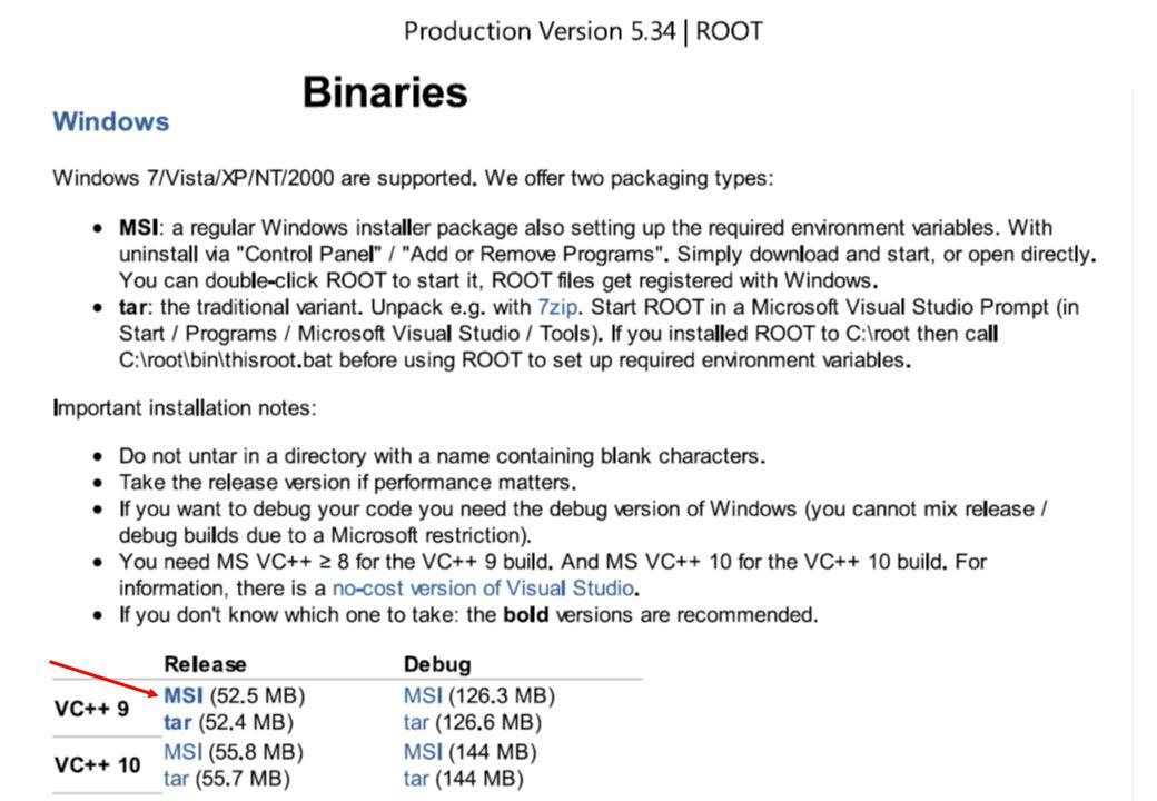 http://root.cern.ch ROOT základní příkazy.L file.c - načtení souboru s programem.U file.c - uvolnění programem z paměti run() - spuštění funkce run