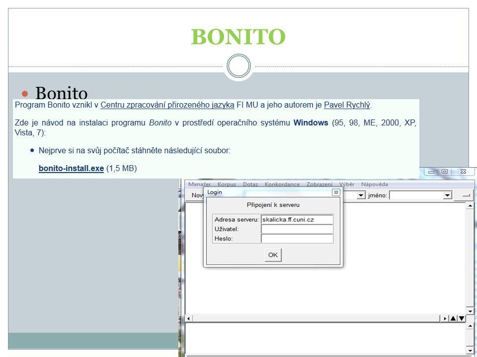 BONITO Bonito