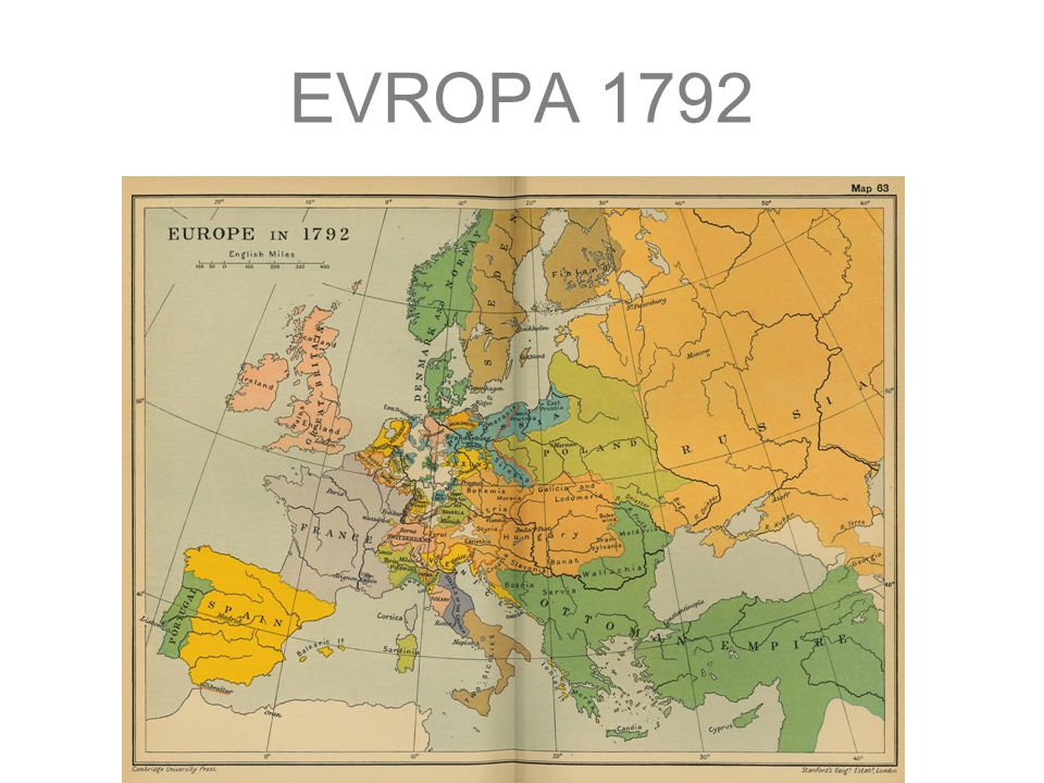 EVROPA 1815