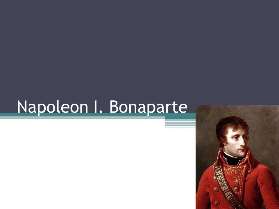 Narodil se v roce 1769 na Korsice Umřel 5.