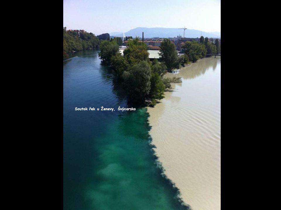 Soutok řek u Ženevy, Švýcarsko