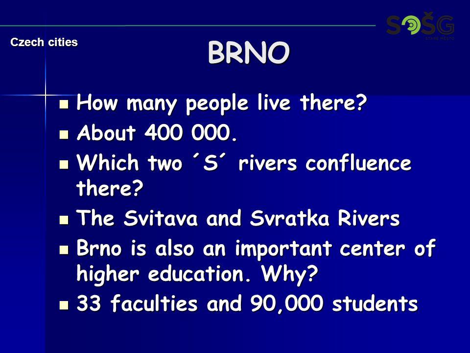 What else is Brno famous 4.What else is Brno famous 4.
