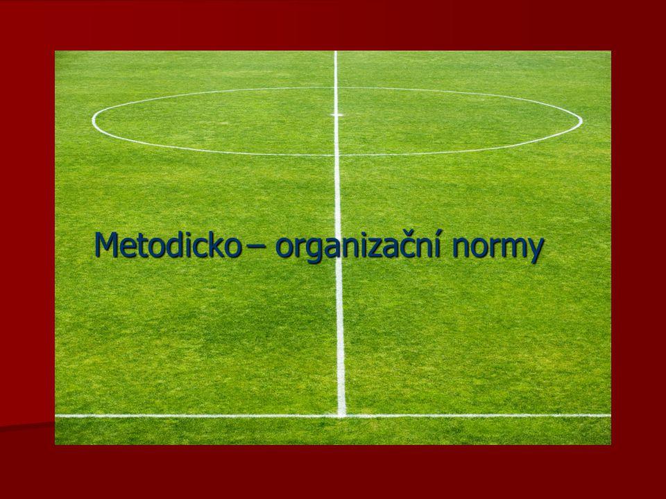 Metodicko – organizační normy