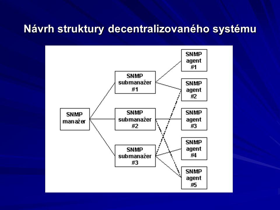 Návrh struktury decentralizovaného systému