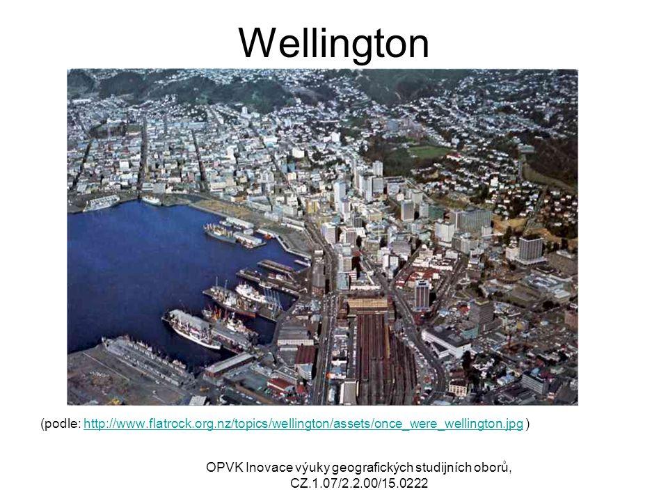 Port Moresby (podle: http://upload.wikimedia.org/wikipedia/commons/b/bf/Poor_coastal_housing_at_Hanuabada_in_Po rt_Moresby1.jpg ) http://upload.wikimedia.org/wikipedia/commons/b/bf/Poor_coastal_housing_at_Hanuabada_in_Po rt_Moresby1.jpg OPVK Inovace výuky geografických studijních oborů, CZ.1.07/2.2.00/15.0222