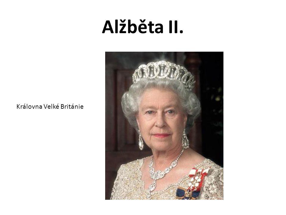 Alžběta II. Královna Velké Británie